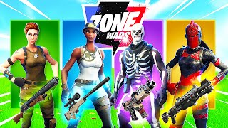 The *RANDOM* SKIN CHALLENGE in Fortnite Zone Wars