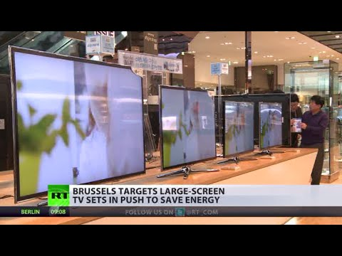Telly in Trouble: EU targets large-screen TV sets, other devices to save energy