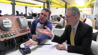 Paul Fletcher MP speaks to Wattcost founder & CEO David Soutar