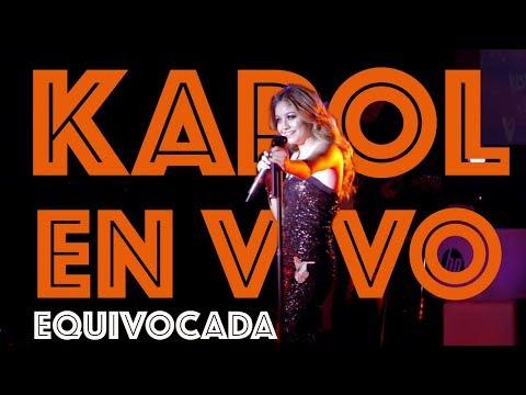 Karol Sevilla I HP On Live I Equivocada