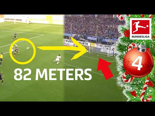 Top 10 Long-Range Goals Of The Century - Bundesliga 2019 Advent Calendar 4