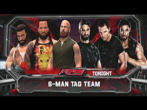 Wwe 2k14 The Wyatt Family Vs The Shield Wwe 2k14  wyatt family vs the    Wwe 2k14 The Wyatt Family Vs The Shield