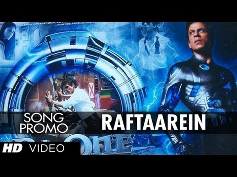 Raftaarein: Ra.One (New Song) ShahRukh Khan