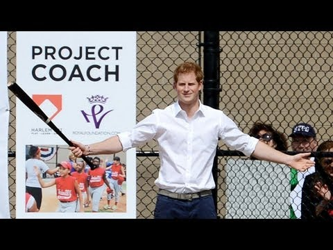 Prince Harry speaks at New York fundraiser for Coach Core scheme