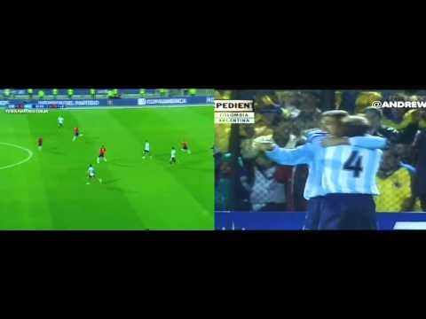 El día que Batistuta convirtió el gol que el Pipita falló