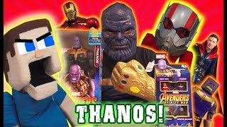 PUPPET STEVE VS THANOS?! Avengers Infinity War Movie Toys Iron Man Action Figures Marvel SH Figuarts