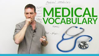 Learn MEDICAL Vocabulary in English