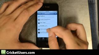 CricketUsers.com - Part 2 iPhone 4 Flash Tutorial for Cricket Wireless (talk,text,Internet,and MMS)