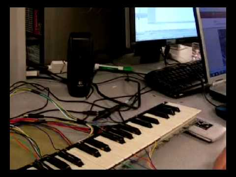 Velocity Sensitive Digital Piano - Featured On Ed Gadgets