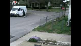 FedEx Car delivery man funny video
