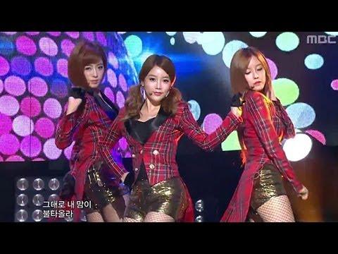 T-ARA - Sexy Love, 티아라 - 섹시 러브, Music Core 20121013