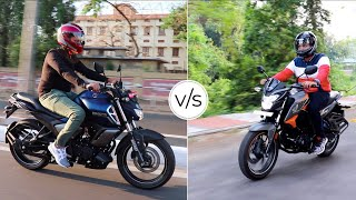 Yamaha FZ-S V3.0 v/s Honda CB Hornet 160R ABS in-depth comparison!!