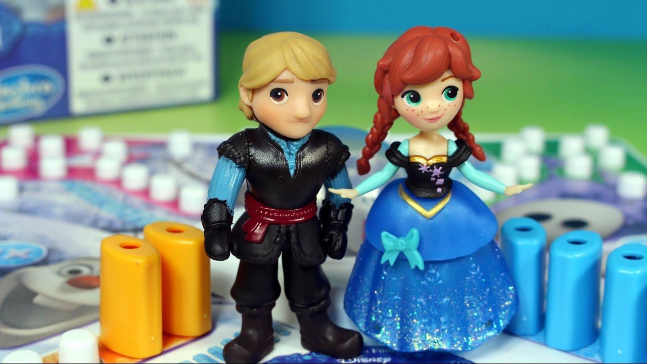 Gry Disney: Frozen - Anna, Kristoff & Kraina Lodu - bajka po polsku