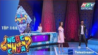HTV NGẠC NHIÊN CHƯA | Nam Thư tiết lộ Xuân Nghị có tình cảm với mình | NNC #144 FULL | 18/7/2018