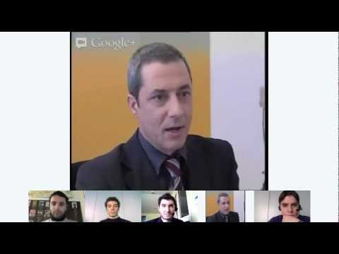 Hangout Elezioni 2013 – Incontro con Antonio Ingroia per Rivoluzione Civile