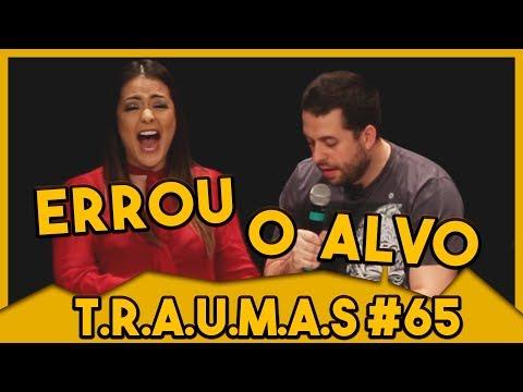 T.R.A.U.M.A.S. #65 - NO ROSTO É MANCADA (C/ LI MARTINS) Vídeos de zueiras e brincadeiras: zuera, video clips, brincadeiras, pegadinhas, lançamentos, vídeos, sustos