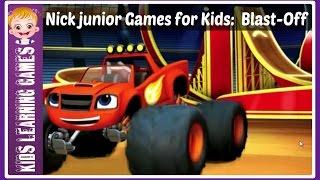 Nick junior Games for Kids: Monster Machines games:  NickJr  Blast-Off
