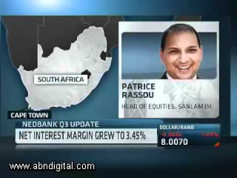 Nedbank Q3 Update with Patrice Rassou