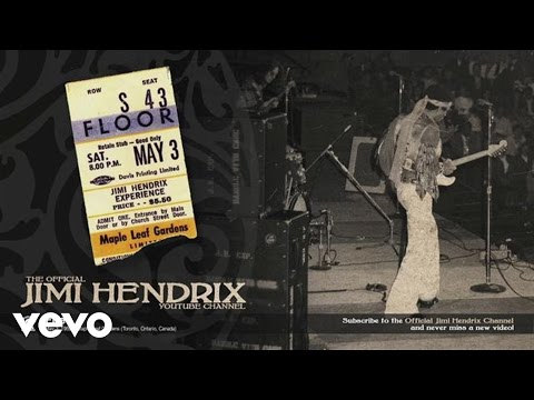 Jimi Hendrix - Jimi Hendrix - Fire - Toronto 1969