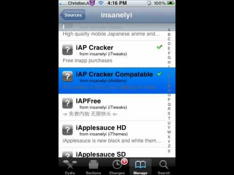 IAP Cracker Compatible list for jailbreak.