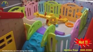 Cùng khám phá khu vui chơi trong nhà - phòng chơi của bé