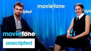 'Insurgent' | Unscripted | Shailene Woodley, Theo James
