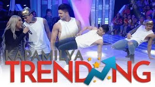 Rayver at Zeus, hot na hot sa dancefloor ng GGV!