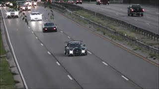 4 Rotor Rx7 and Supra Highway Cruise!