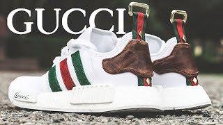 "Adidas NMD ""GUCCI"" Custom!!"