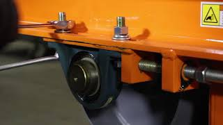 Belt Tensioning and Tracking for Suspended Magnets