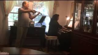 Hino 001 CCB Cristo meu Mestre - Violino e Órgão - Claudio Cruz
