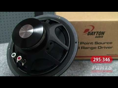 "Dayton Audio PS220-8 8"" Point Source Full-Range Driver"