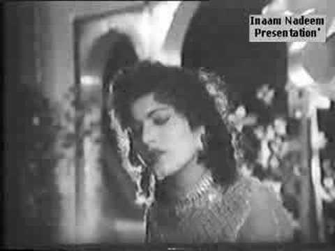 Noor Jehan - Zindagi Hai Ya Kisi Ka Intizar - Salma (1960)