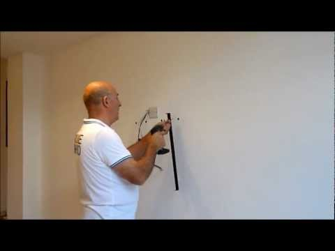 How to fix a TV to a dry lined or dot and dab  wall