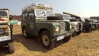 Most beautiful Land Rover Series collection in the world!! - Landy Festival 2015