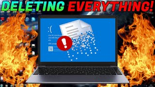 DESTROYING A SCAMMERS LAPTOP! [Files DELETED]