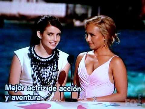 Emma Roberts - TCA 2009 ( Subtitulado al español )