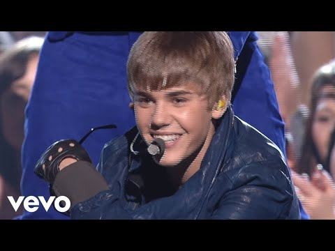 Justin Bieber, Usher - Baby/Never Say Never/OMG (GRAMMYs on CBS) ft. Jaden Smith thumbnail