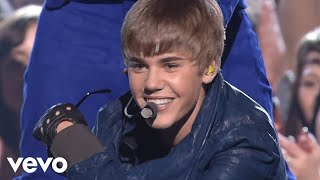 Justin Bieber Video - Justin Bieber, Usher - Baby/Never Say Never/OMG (GRAMMYs on CBS) ft. Jaden Smith