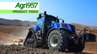 EXTREME HARD CONDITIONS: NEW T8.435 SmartTrax | New Holland & Agri957 | ULTRA HD 4K