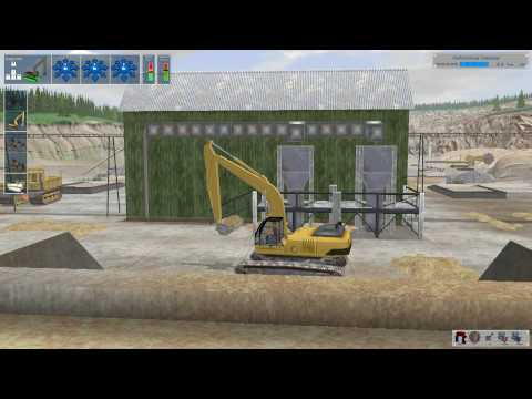 Digger Simulator 2008 Gameplay