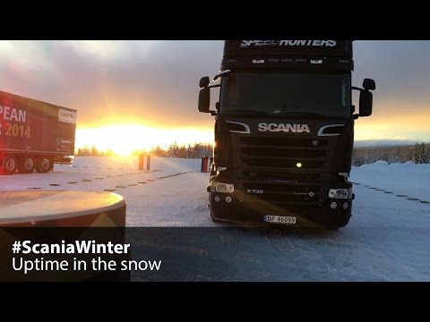 #ScaniaWinter – Uptime in the snow