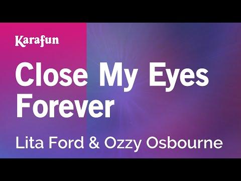 Karaoke Close My Eyes Forever - Lita Ford