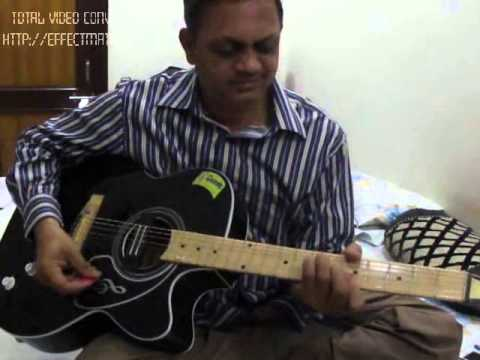 Guitar lesson Aankho hi aankho m