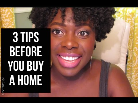 3 tips before you buy a home jenellbstewart youtube for What to do before buying a home