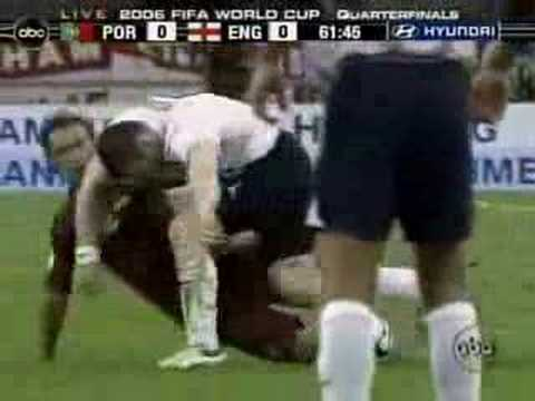 Rooney Red card vs Portugal