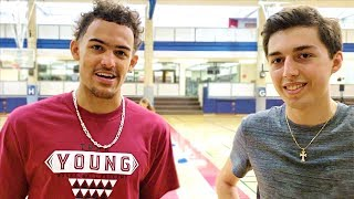 1 on 1 vs. NBA Rookie TRAE YOUNG
