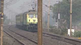 MY FIRST CATCH: NEW DELHI - HOWRAH YUVA EXPRESS WITH DURONTO LIVERIED WAP 7