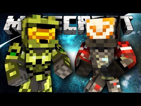 Minecraft Halo Wars *New* Minecraft Halo Mini-Game with Mastercheif!