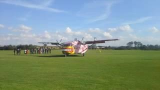 Pink Skydivers, Letiště Klatovy